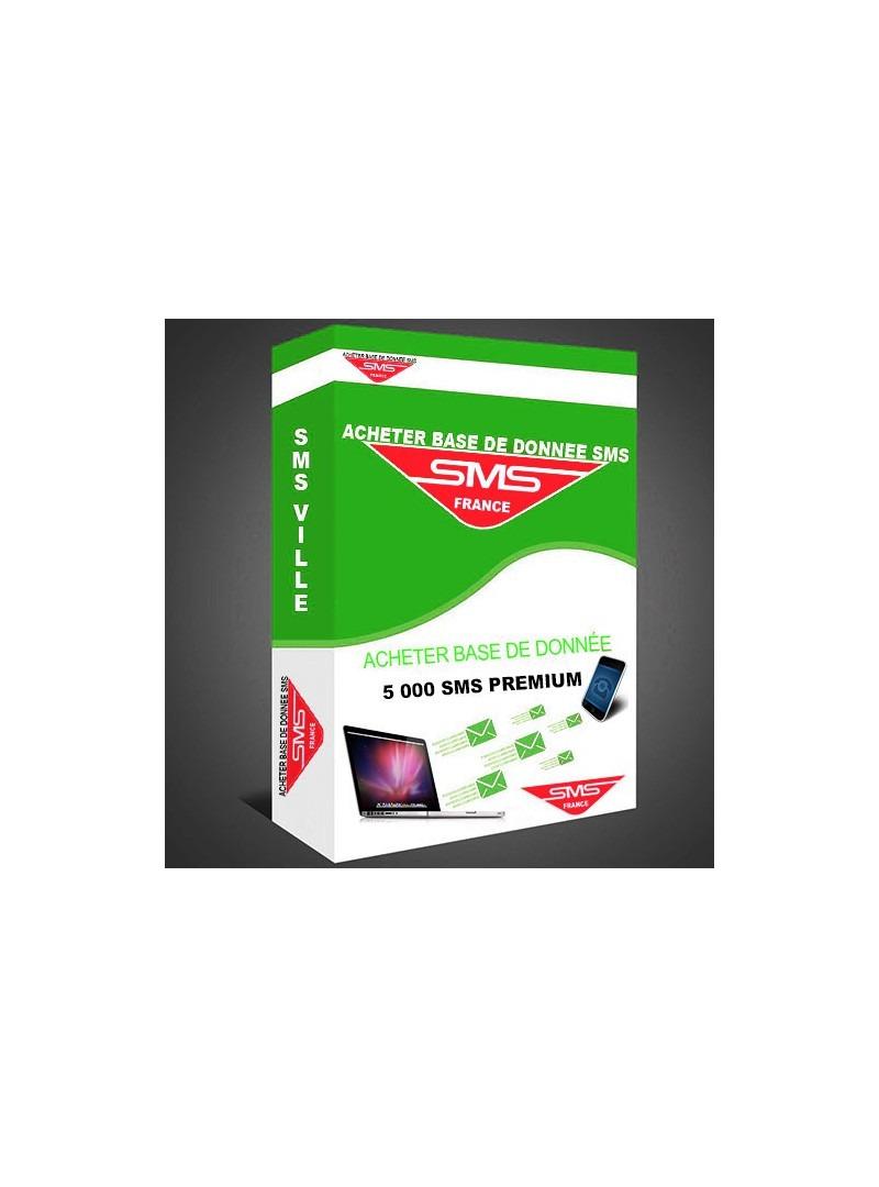 PACK 5 -5 000 SMS PREMIUM - Envoyer campagne sms