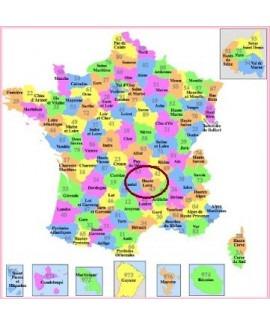 Acheter base de donnée SMS particuliers Département Haute-Loire 43