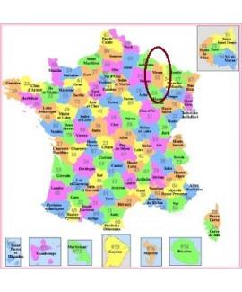 Acheter base de donnée SMS particuliers Département Meuse 55