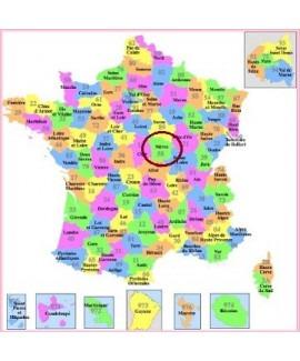 Acheter base de donnée SMS particuliers Département Nièvre 58
