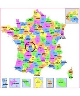 Acheter base de donnée SMS particuliers Département Haute-Vienne 87