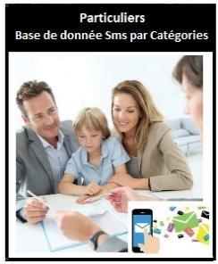 Base de données SMS par Catégories